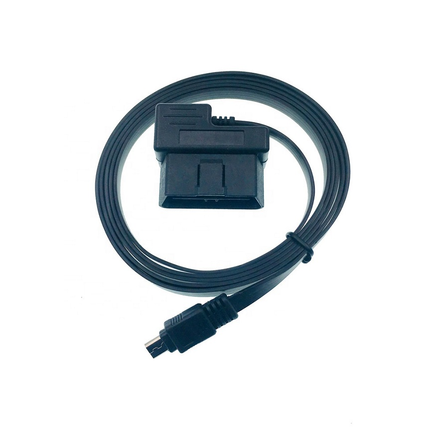 OBD2 cable connector USB flat micro USB